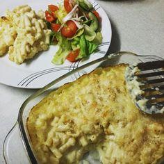 Homemade mac n cheese from BBC good food recipe