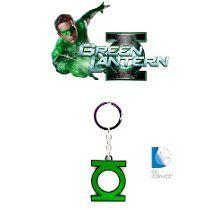 Llavero De Linterna Verde - Green Lantern - Dc Comics