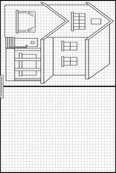 Copy the drawing Learn to draw Activities for kids printable Houses 9 is part of Drawing for kids - Symmetry Worksheets, Symmetry Activities, Visual Perception Activities, Writing Practice Worksheets, Drawing Activities, Teaching Drawing, Printable Activities For Kids, Book Activities, Perspective Drawing Lessons