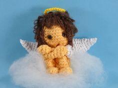 Engel auf Wolke 7 Amigurumi Häkelanleitung