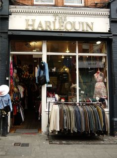 Harlequin, Dublin, Ireland. Best Vintage Shop!
