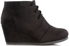 Amazon.com   Marco Republic Galaxy Womens Wedge Boots - (Charcoal) - 9   Boots