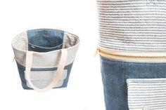 Caravan Tote Details | Sewing Pattern by Noodlehead