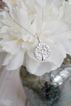 Mother's Day Gift Idea - beautiful Tree of Life neckace #mothersday #HallmarkJewelry #ad