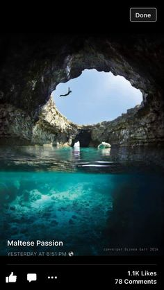 St. Peter's pool, Natural Pool in Malta
