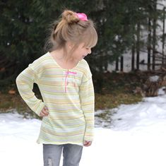 @5outof4patterns posted to Instagram: I just love this tunic! Did you know that the Kids' Weekender Tunic has this adorable placket and lace detail? It gives a nice, unique touch! The Kids' Weekender pattern is a loose fit style with a dropped shoulder, so it's nice and comfy! Read more with the link in my bio! #5outof4patterns #pdfsewingpatterns #5oo4 #pdf #isew #sewcialists #handmadewardrobe #sewing #sew #sewingproject #fabric #sewingforkids #sewingforboys #sewingforgirls #handmadeclothing #i