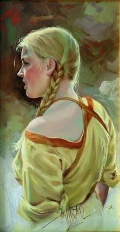 Kai Fine Art is an art website, shows painting and illustration works all over the world. Hyper Realistic Paintings, She's A Lady, Various Artists, Portrait Art, Figure Drawing, Figurative Art, Artist At Work, Contemporary Artists, Oil On Canvas