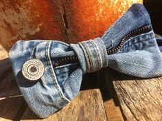 """Zip Me Up"" bow tie $35    www.etsy.com/shop/ChasenHunter  www.facebook.com/ChasenHunterDesigns"