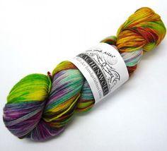 Drachenwolle Ein und Alles Sockenwolle 4-fädig 100 g