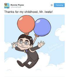 Tribute To Mr. Satoru Iwata Who Recently Passed