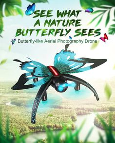 Jjr C Jjrc Wıfı Fpv Voice Control Altitude Hold Butterfly Like Rc Fpv Drone Dron Quadcopter Helicopter For Kids Toy Gift Flight Speed, Fly Control, Pilot, Butterfly Shape, Butterflies Flying, Drone Quadcopter, Aerial Photography, Mini