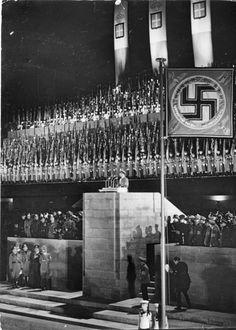 Joseph Goebbels speech during the Mussolini visit, 28 September 1937