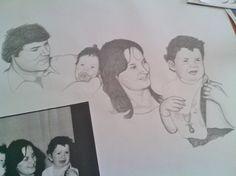 Retrato de familia by Jorge Antunes, via Behance