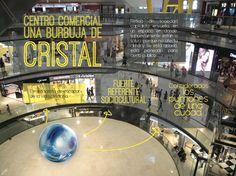 centro comercial, una burbuja de cristal