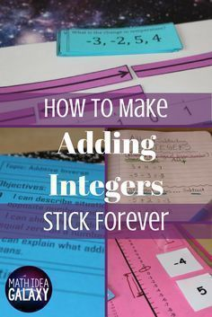 A step by step guide for breaking down the teaching of additive inverse and adding & subtracting integers using I Can Statements. This is a great addition to the interactive notebook, and you can download your own copy for FREE.
