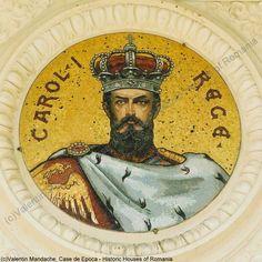 King Carol I's mosaic image, Athenaeum, Bucharest