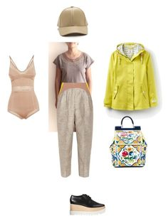"""""""Fall is fun!"""" by teesuptshirts on Polyvore featuring STELLA McCARTNEY, Balmain, Delpozo, Joules and Dolce&Gabbana"""