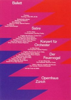 Rene Wanner's Poster Page / Ruedi Rüegg (1923 - 2011)