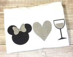 Minnie Love Wine Shirt