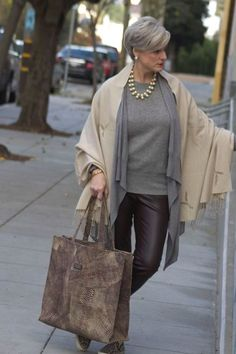 chic-style-for-lady-plus-50- Style at a certain age http://www.justtrendygirls.com/style-at-a-certain-age/