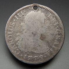 1779 Mexico 2 Reales Silver Collectible Coin – Gold Stream Boutique