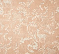 Lisa Fine Textiles | Pandora Terra Cotta Textile Patterns, Textiles, Natural Linen, Home