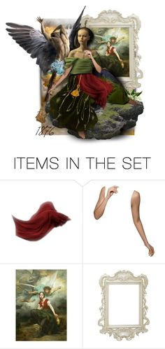 """""""Jeanne d'Arc and the archangel Michael"""" by sophisticatedignorance21 ❤ liked on Polyvore featuring art"""