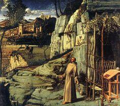 O Êxtase de São Francisco de Assis - Giovanni Bellini
