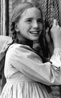 Melissa Gilbert/Laura Ingalls on Little House On the Prairie.