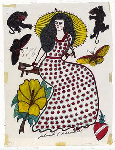 From Ricco/Maresca Gallery, Rosie Camanga, Untitled (Island of paradise) Ink on Paper, 13 × 10 in Arm Tattoo, Tattoo Ink, Leg Tattoos, Tatoos, Vintage Tattoo Design, Traditional Tattoo Old School, History Tattoos, Geometric Tattoo Arm, Traditional Tattoo Flash