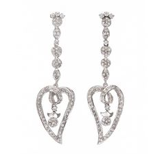 This must have Sterling Silver Earrings. with Cubic Zirconia, it is elegant and stylish can be worn with western or Indo-Western outfits, suitable for all occasions.