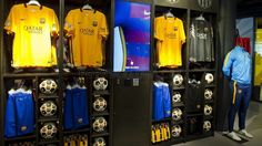 FC Barcelona second kit for 2015/16 season on sale now   FC Barcelona