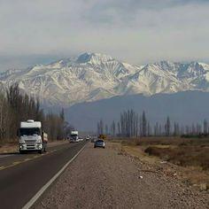Mendoza. Ruta 7 camino del Aconcagua. Cuyo. Argentina