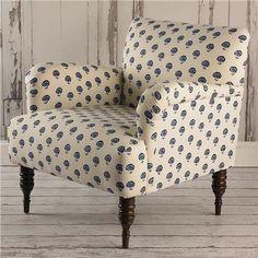 Floral Cottage Arm Chair