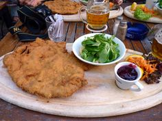 Wiener Schnitzel in Vienna, Austria (photo by @Derek Earl Baron)
