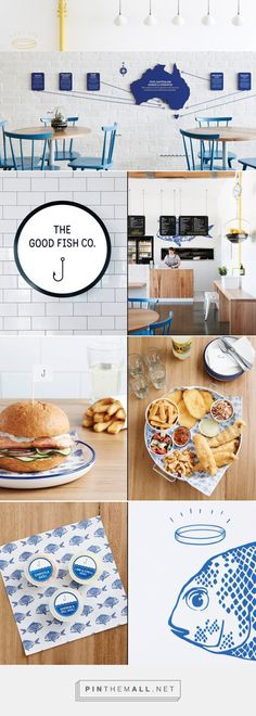 The Good Fish Restaurant Branding by Swear Words »  Retail Design Blog