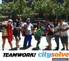 At CitySolve, we're all about teamwork. Assemble your colleagues, grab your costumes, and bring forth your team to the race!