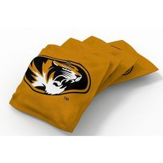 Wild Sports University of Missouri Beanbag Set Yellow - Outdoor Games And Toys, Outdoor Games at Academy Sports