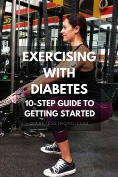 This guide to Working Out With Diabetes is based on my experience as a diabetic and fitness professional, and it's what I teach my clients who have diabetes. #diabetes #type1diabetes #diabeticressources #diabetesworkout