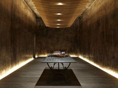 Image 1 of 10 from gallery of Yalumba Winery – Signature Cellars / Grieve Gillett. Courtesy of grieve gillett Club Lighting, Lighting Concepts, Linear Lighting, Lighting Design, Light Architecture, Interior Architecture, Interior Design, Commercial Architecture, Cafe Bar