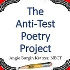 $3.50  This project requires students to select a poet, choose a poem by that poet, memorize and perform the poem, write a literary analysis essay, and teach a lesson to the class. It's a great way to assess poetry analysis skills without a test!