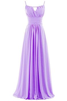 Sunvary Modern Chiffon Long Formal Gowns Bridesmaid Dresses Party Dresses – US Size 12- Lilac  - Click image twice for more info - See a larger selection of bridesmaid dresses at http://azdresses.com/category/dress-categories/wedding-gown/bridesmaid-dresses/ - woman, wedding fashion, bridesmaid, wedding attire, wedding dress « AZdresses.com