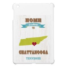 Chattanooga, Tennessee Map – Home Is Where Cover For The iPad Mini