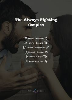 These couples can never live in peace. Do you agree? These couples can never live in peace. Do you agree? Zodiac Signs Couples, Zodiac Signs In Love, Zodiac Signs Chart, Zodiac Signs Relationships, Zodiac Sign Traits, Zodiac Signs Astrology, Zodiac Signs Aquarius, Zodiac Signs Horoscope, Zodiac Memes