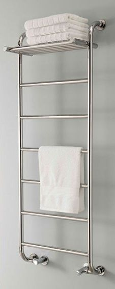 Phoenix towel warmer, heated towel rail