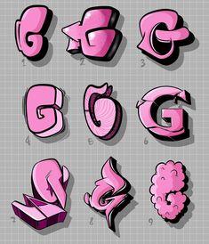 Graffiti Alphabet Letters – # Letters – Graffiti World Graffiti Lettering Alphabet, Graffiti Words, Graffiti Writing, Tattoo Lettering Fonts, Graffiti Tagging, Street Art Graffiti, Graffiti Artists, Calligraphy Alphabet, Alphabet Letters