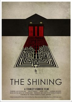 10 Alternative Movie Posters For 'The Shining'