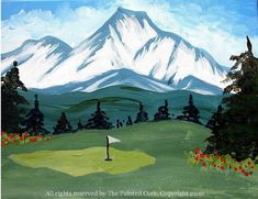 We teach painting classes in two hour sessions in our Folsom sip and paint studio and in our sip and paint Sacramento art studios. All painting are copyrighted. Golf Painting, Painting Studio, Painting Classes, Mount Shasta, Winter Painting, Christmas Paintings, Paint Party, Art Studios, Golf Courses
