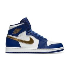 c6b4c05a3 where to buy authentic air jordan 1 mens deep royal blue metallic gold coin white  retro