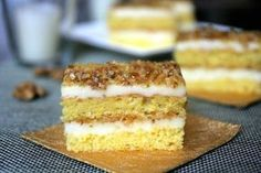 Sweets Recipes, Cake Recipes, Desserts, Cake Cookies, Vanilla Cake, Goodies, Food And Drink, Yummy Food, Favorite Recipes
